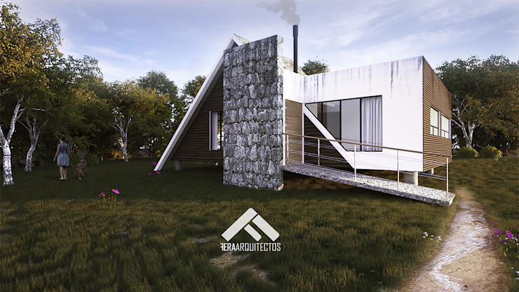 FERAARQUITECTOS Scandinavian style houses