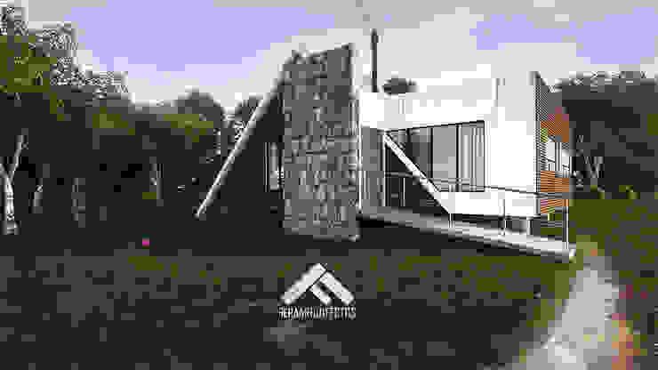 Дома в скандинавском стиле от FERAARQUITECTOS Скандинавский