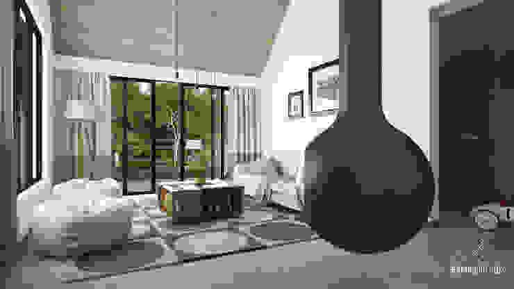 FERAARQUITECTOS Living room