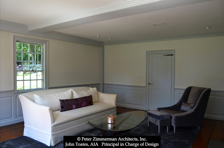 Livings de estilo clásico de John Toates Architecture and Design Clásico