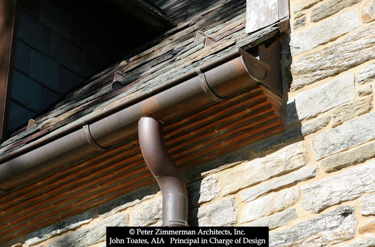 Gutter Detail John Toates Architecture and Design Classic style houses