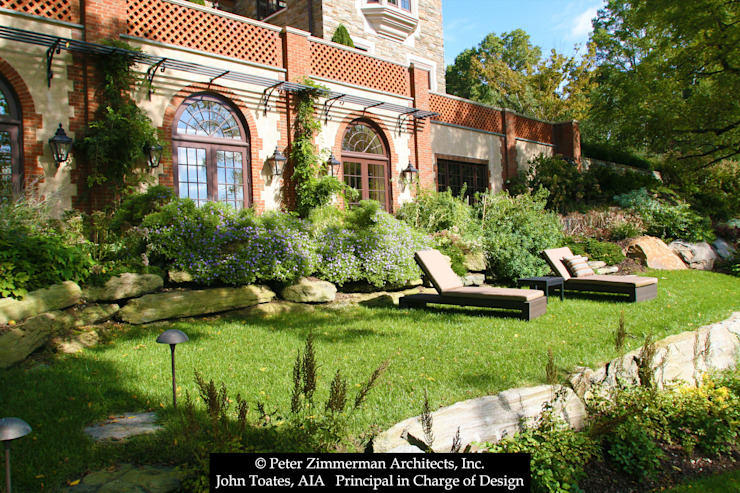 Exterior Classic style garden by John Toates Architecture and Design Classic