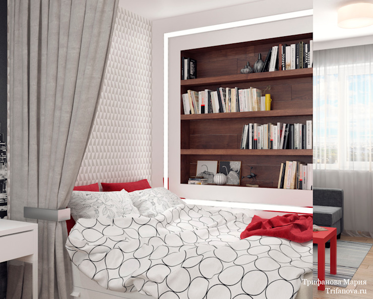 Мария Трифанова Minimalist bedroom