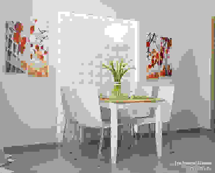 Однокомнатная квартира в Обнинске Кухня в стиле минимализм от Мария Трифанова Минимализм