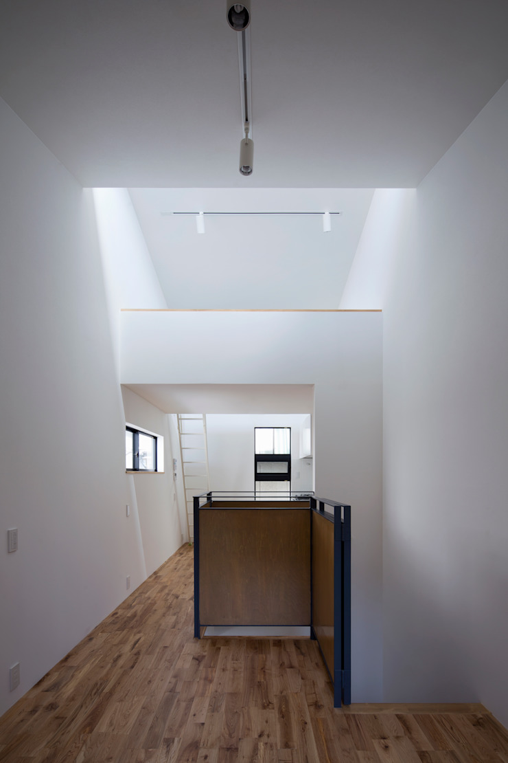 2階LDK の 株式会社 藤本高志建築設計事務所