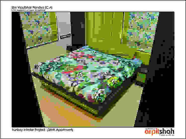 Vipul Pandya @ Indraprasth - 4, Prahladnagar by ARPIT SHAH PROJECTS OPC PVT LTD.