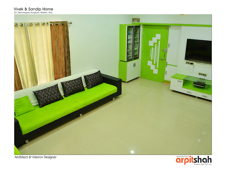 Vivekbhai Khadalia @ Motera by ARPIT SHAH PROJECTS OPC PVT LTD.