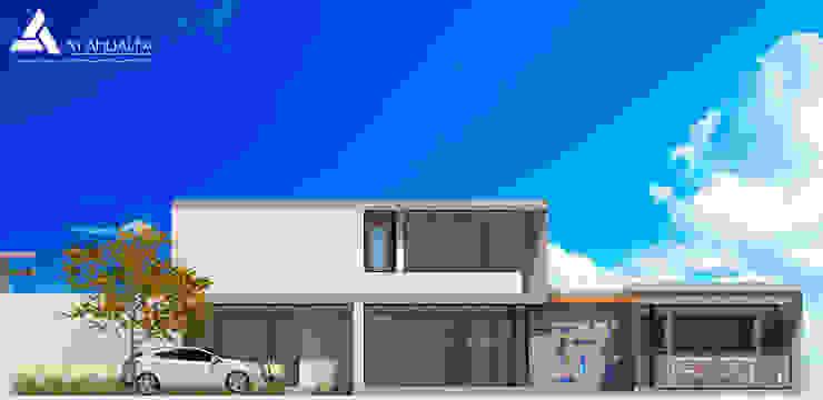 Fachada Este Casas modernas de Atahualpa 3D Moderno