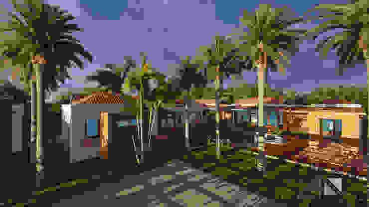 Casa GMA Parqueo - zona social de ARQUITECTOnico