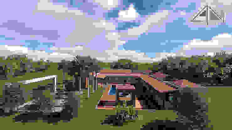 Casa GMA Vista general. de ARQUITECTOnico