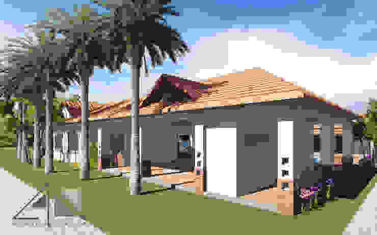 Casa RG - Fachada principal de ARQUITECTOnico