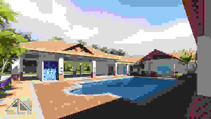 Casa RG - piscina de ARQUITECTOnico
