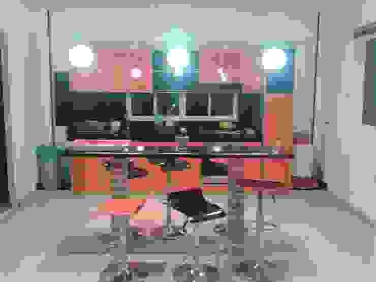 Casa Jhony: Cocinas de estilo  por ARQUITECTOnico,