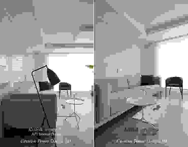 용인 모던스타일 미디어 룸 by JMdesign 모던