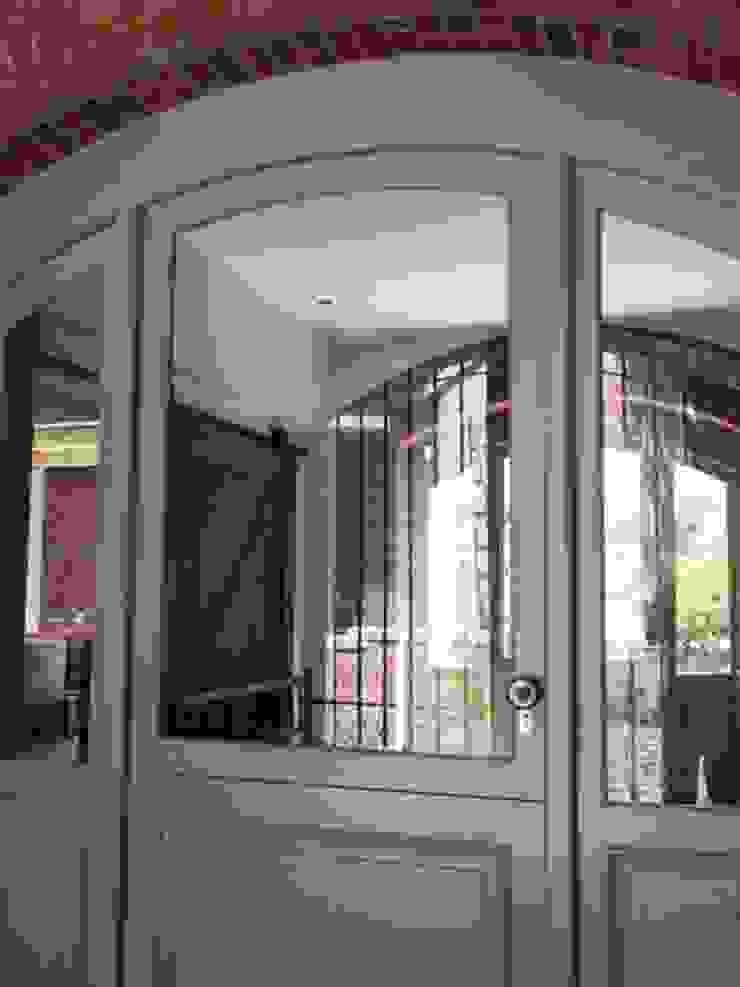 Arched Front Door + Side Lights Classic windows & doors by Window + Door Store Cape Classic