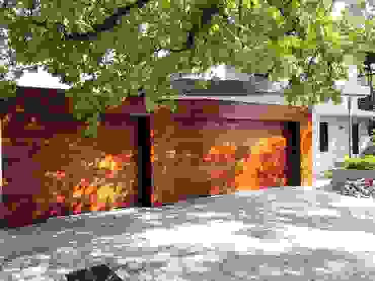 Meranti Cladding Modern windows & doors by Window + Door Store Cape Modern