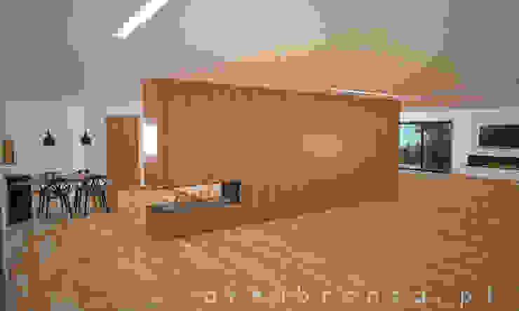 Sala | Kitchen Salas de estar modernas por Areabranca Moderno