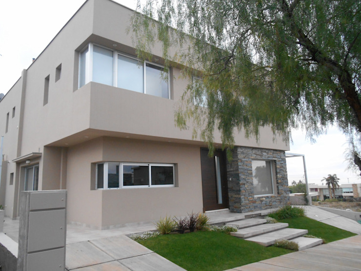 Moderne Häuser von MABEL ABASOLO ARQUITECTURA Modern