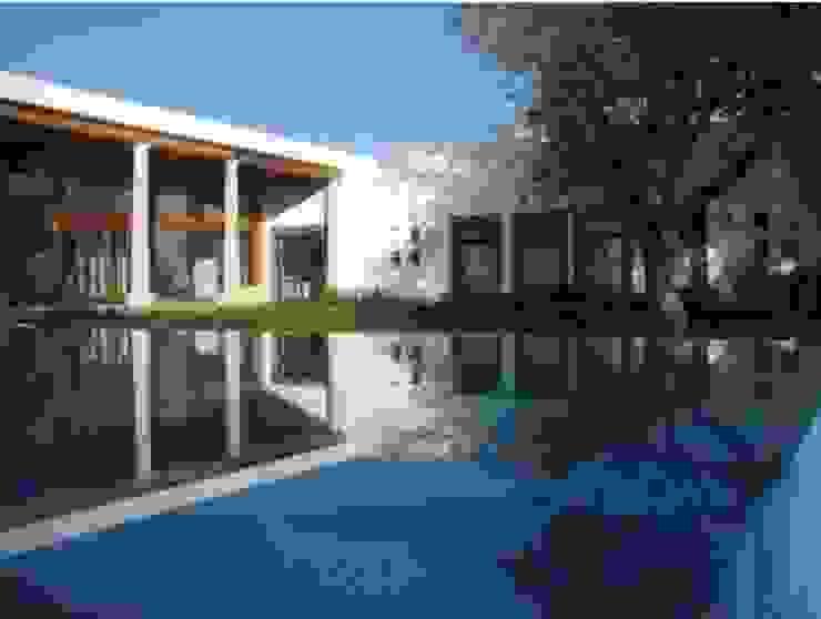 Modern Houses by MARIO TALAMAS Modern Concrete