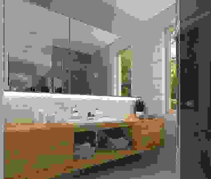 Bathroom by KADA WNĘTRZA S.C.,