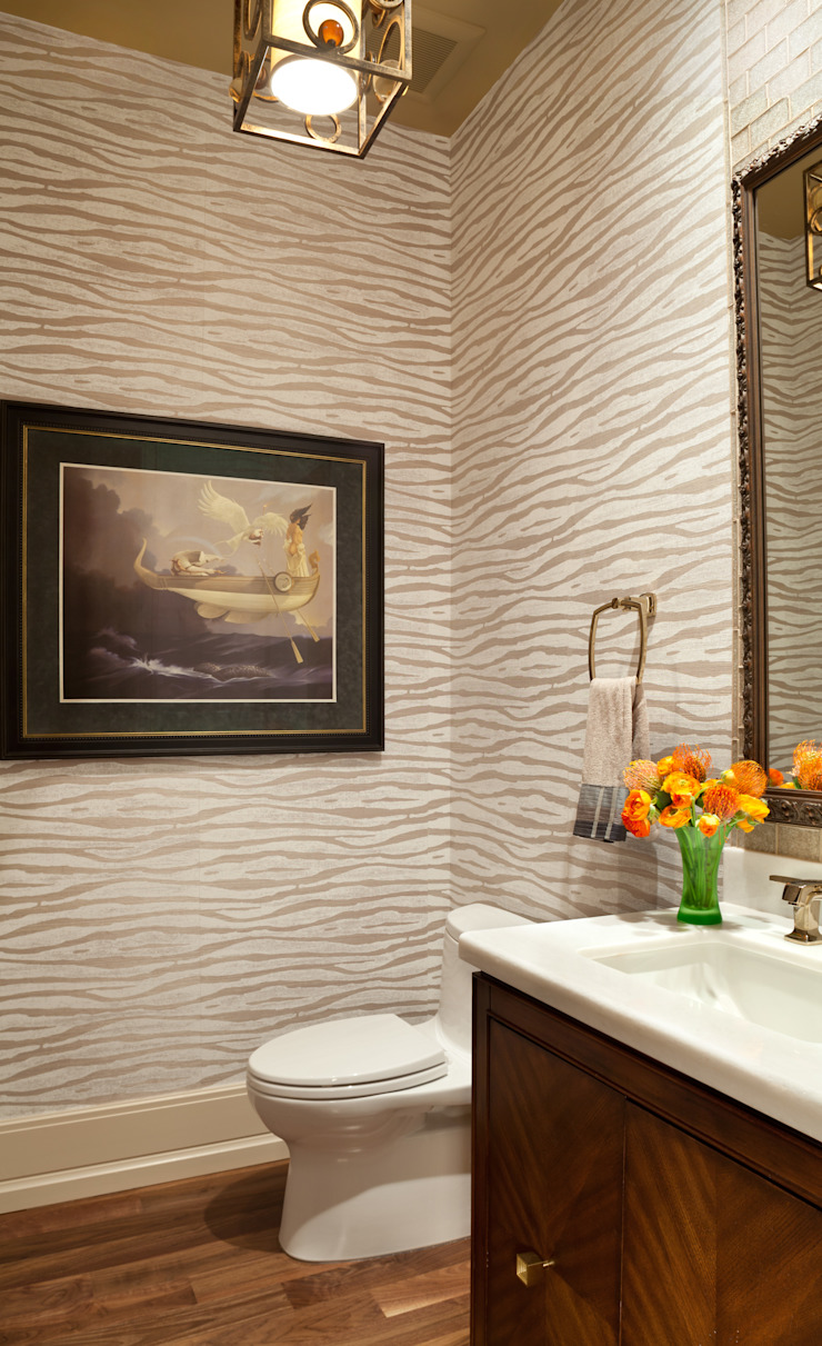 Supremely Sophisticated Classic style bathroom by Andrea Schumacher Interiors Classic