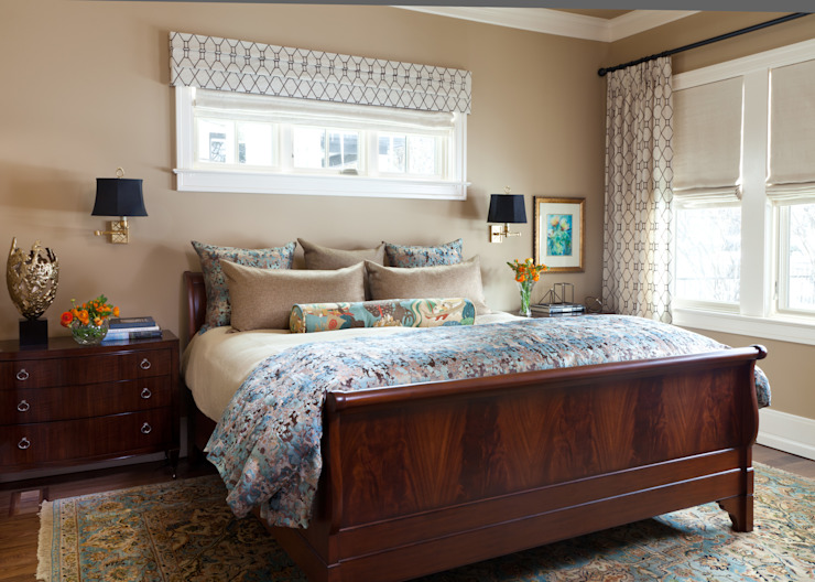 Supremely Sophisticated Classic style bedroom by Andrea Schumacher Interiors Classic