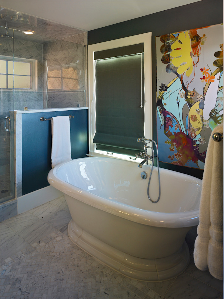 Cherry Creek Home Eclectic style bathroom by Andrea Schumacher Interiors Eclectic