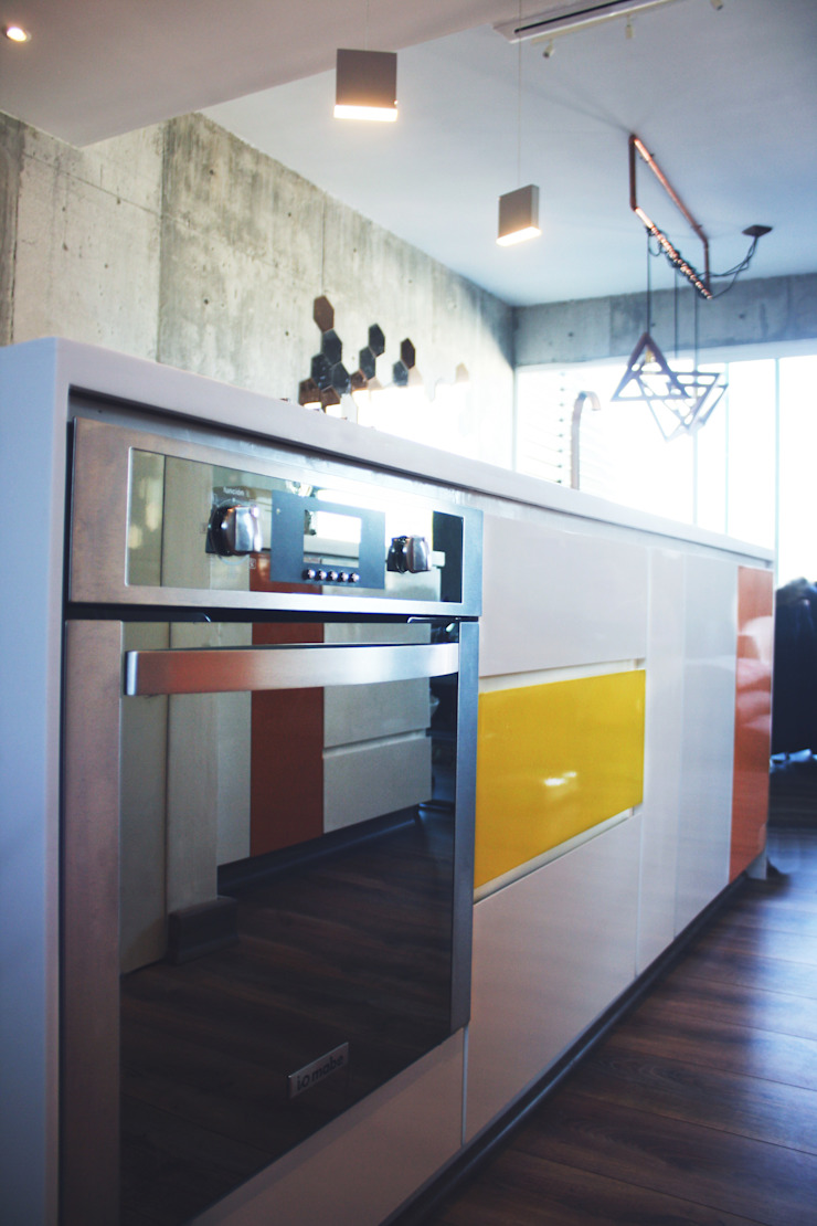 Nomada Design Studio Kitchen White