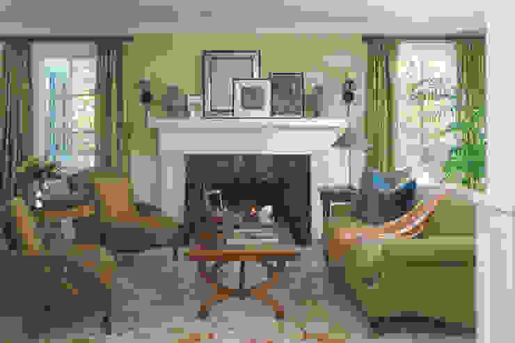 Klasik Oturma Odası Andrea Schumacher Interiors Klasik