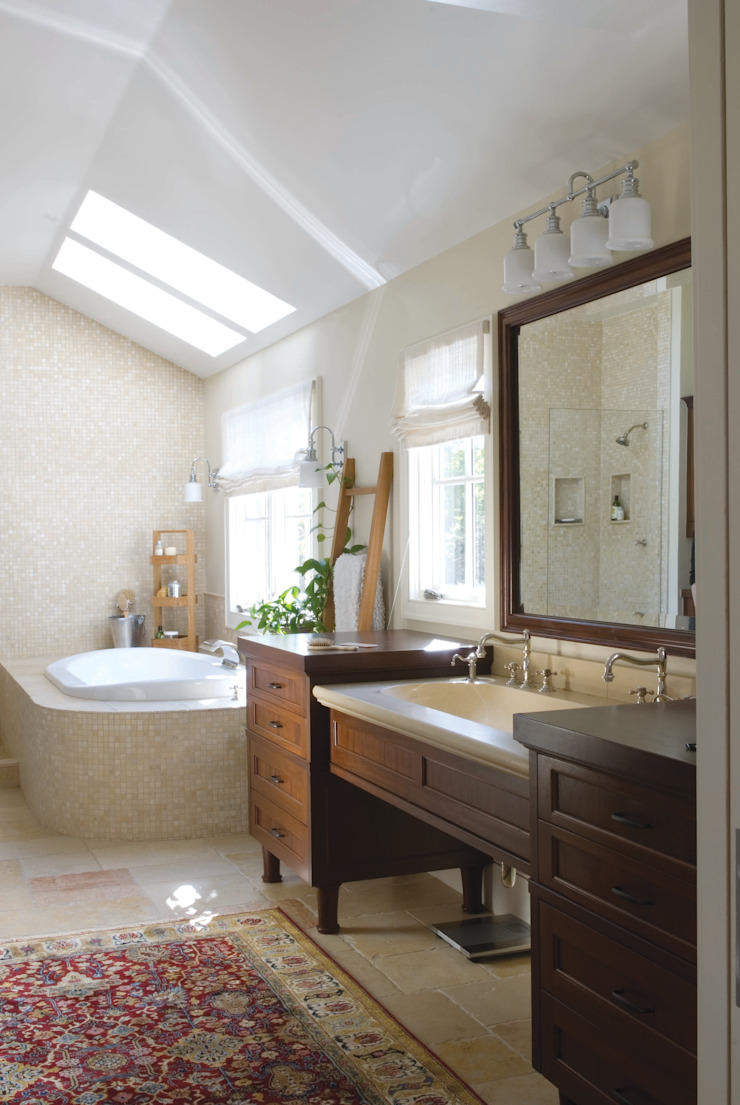 Renovation Remodel Classic style bathroom by Andrea Schumacher Interiors Classic