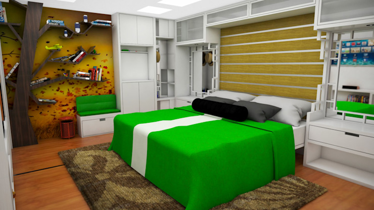 Modern Bedroom by Rbritointeriorismo Modern