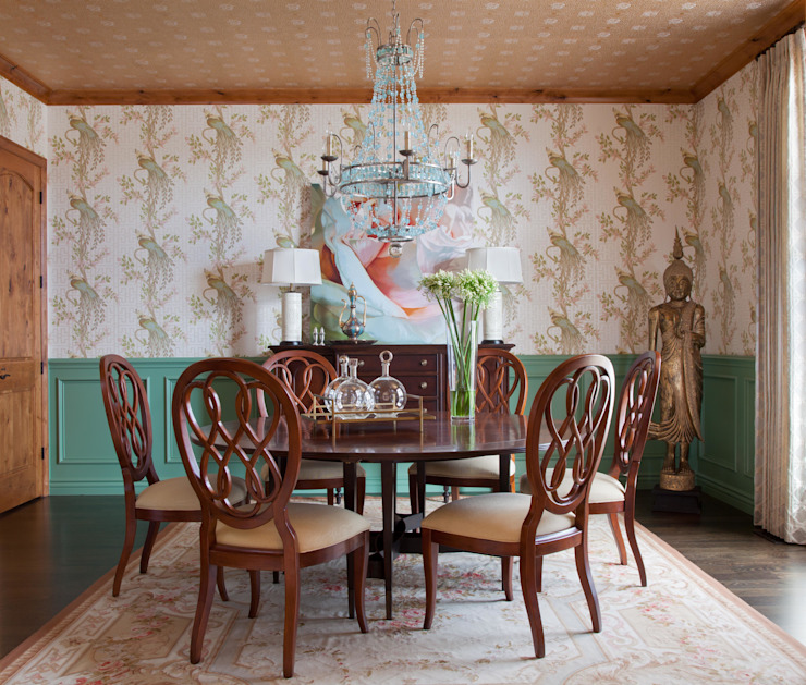 Dining room by Andrea Schumacher Interiors, Classic