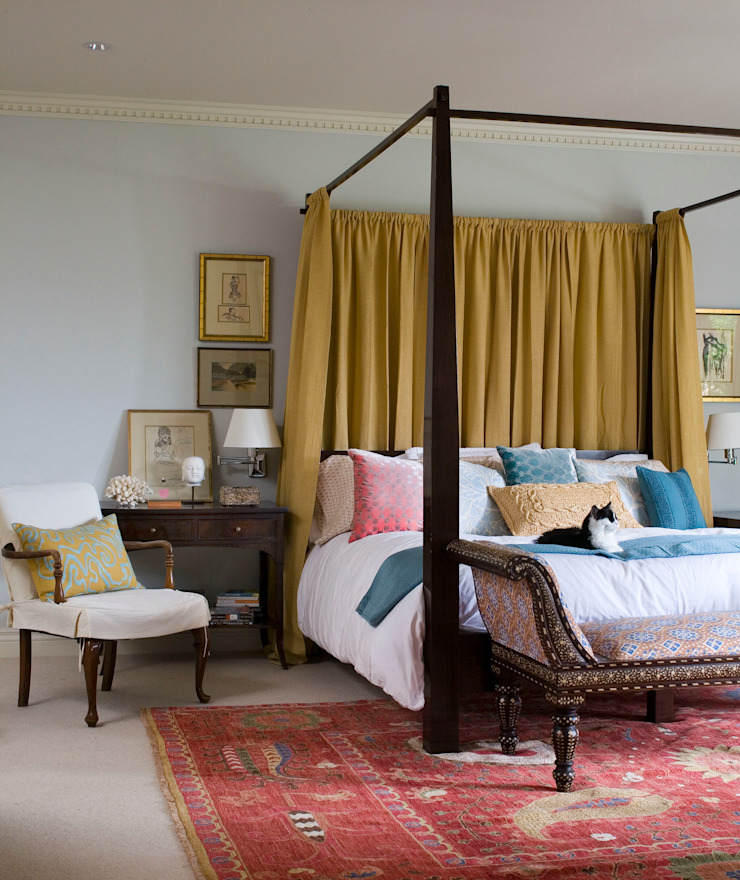 Home of the Year Classic style bedroom by Andrea Schumacher Interiors Classic