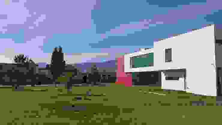 CASA PZ ARQUIMIA ARQUITECTOS Casas modernas de Arquimia Arquitectos Moderno