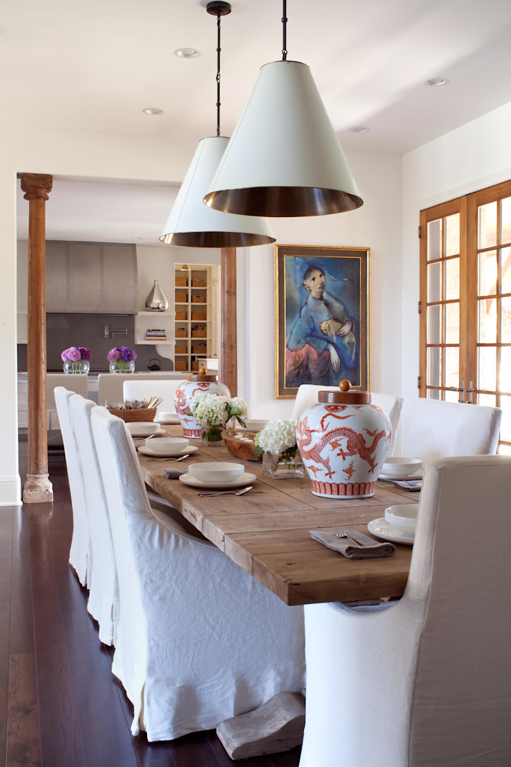 Buell Mansion Remix Classic style dining room by Andrea Schumacher Interiors Classic