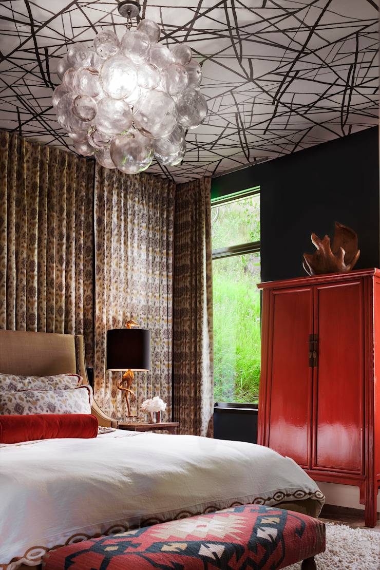 Vail Valley Retreat Eclectic style bedroom by Andrea Schumacher Interiors Eclectic