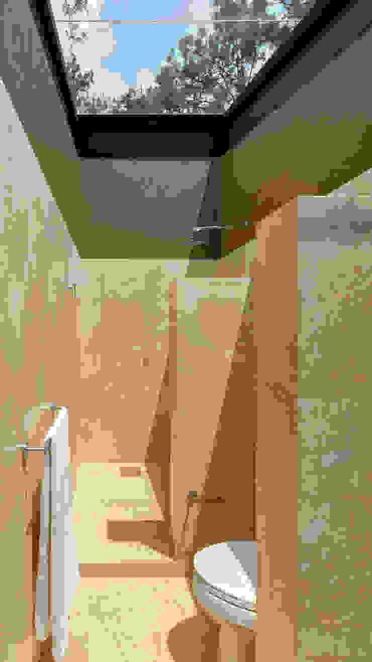 Baño principal - Casa tipo Baños escandinavos de Weber Arquitectos Escandinavo
