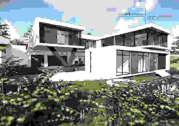 House Louw Modern houses by Gottsmann Architects Modern Bricks