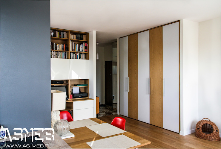 AS-MEB Living room Chipboard Wood effect