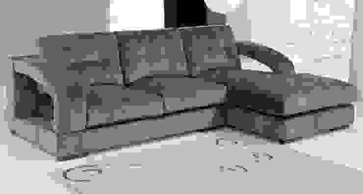 Sofás c/ chaiselong Sofas w / Chaiselong www.intense-mobiliario.com RETIPUJ por Intense mobiliário e interiores; Moderno