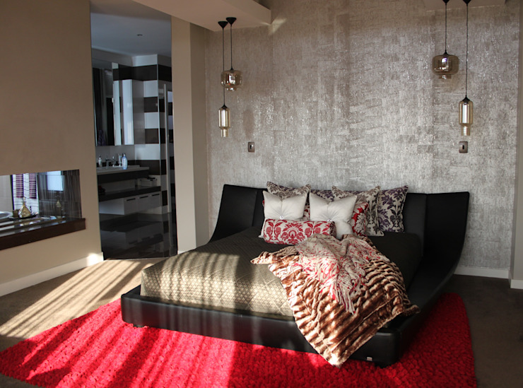 Main Bedroom Modern style bedroom by Inside Out Interiors Modern