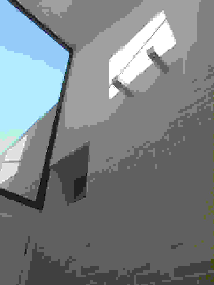VISTA DESDE EL HALL PRINCIPAL Pasillos, halls y escaleras escandinavos de asieracuriola arquitectos en San Sebastian Escandinavo Ladrillos