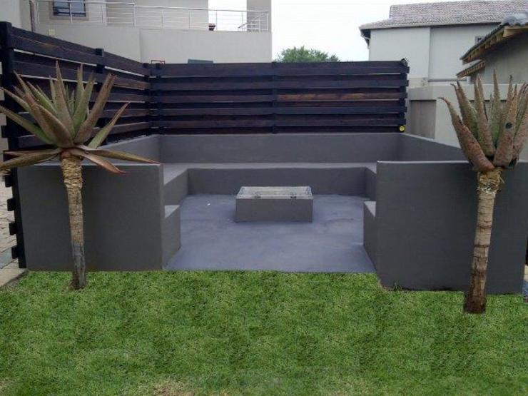 Project Completed by Liquid Landscapes Modern Garden by Liquid Landscapes Modern