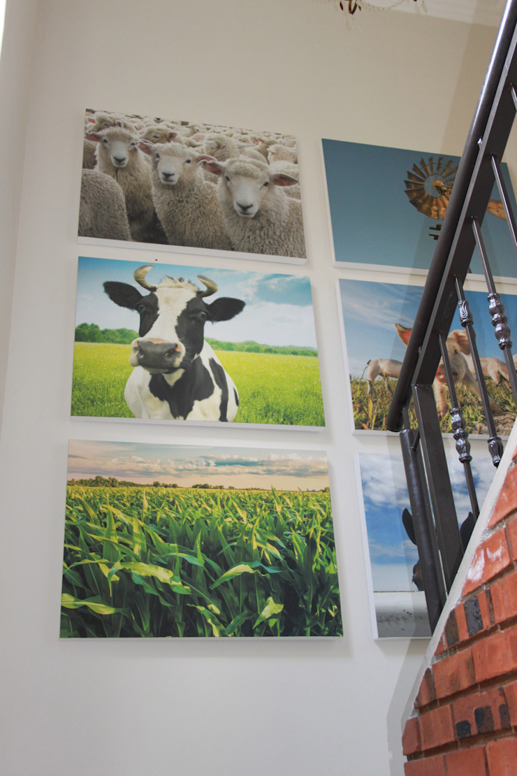 Customised Artwork: country  by Inside Out Interiors, Country