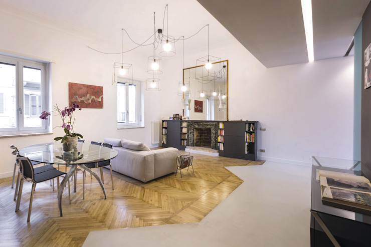 Living room by mg2 architetture, Modern