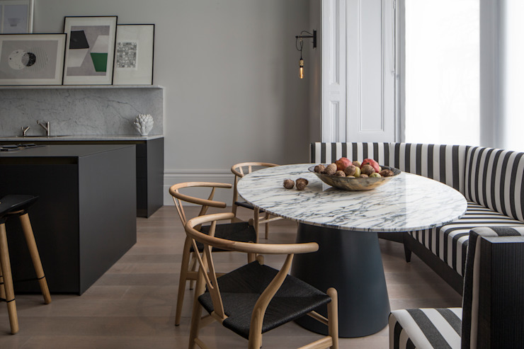 Kitchen - Belsize Park 모던스타일 주방 by Roselind Wilson Design 모던