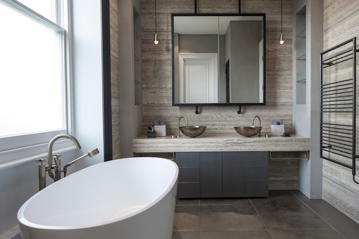 Master Bathroom - Belsize Park Roselind Wilson Design Modern bathroom