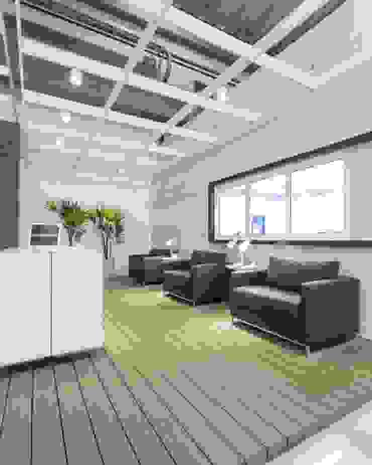 Stefani Arquitetura Edificios de oficinas de estilo moderno