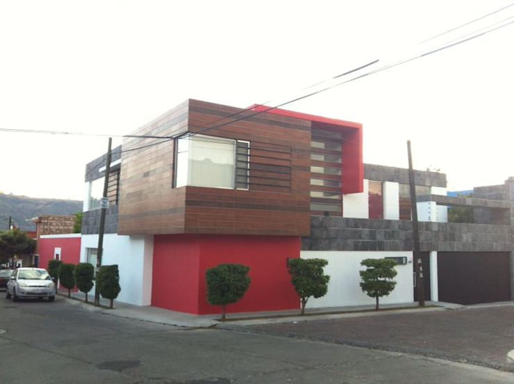 Casa J+S ARQUIMIA ARQUITECTOS Casas minimalistas de Arquimia Arquitectos Minimalista