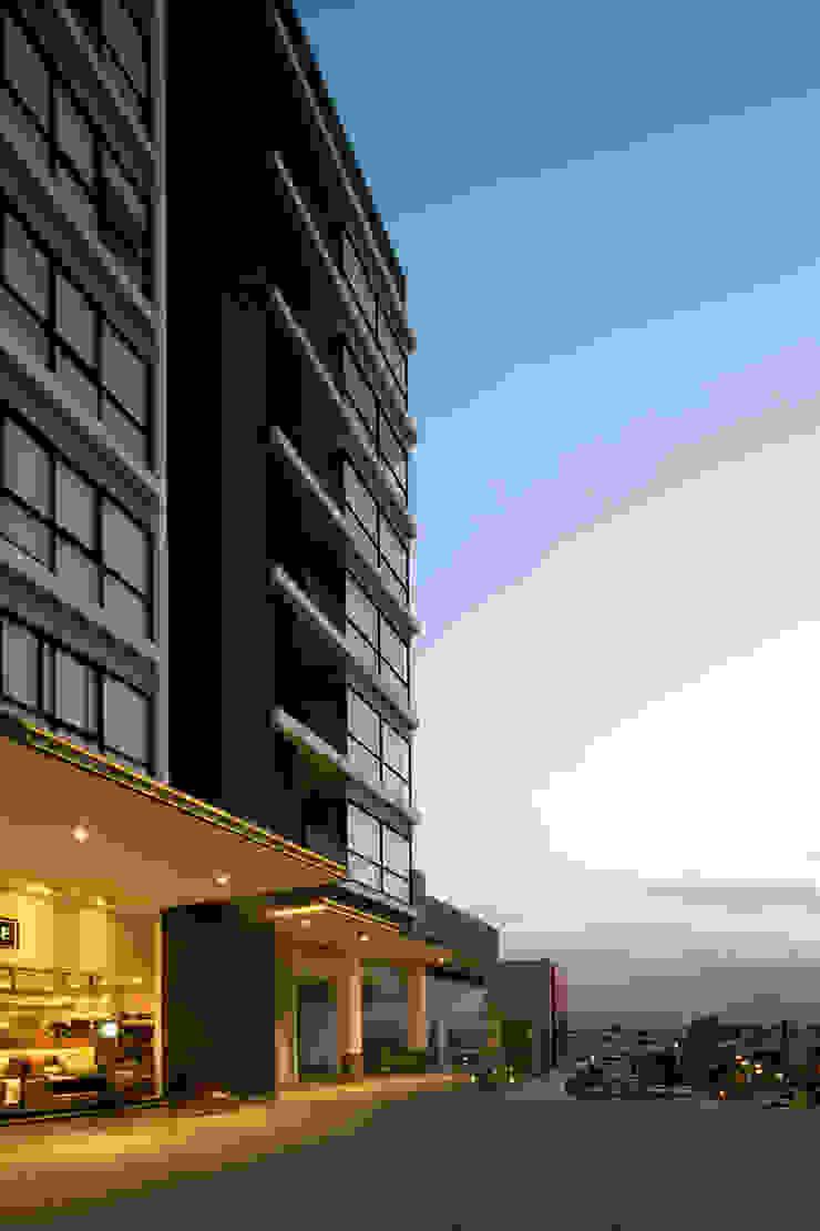 Gran Ciudad Nuevo Sur Balcones y terrazas modernos de Grow Arquitectos Moderno